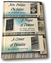 Rare Detective Book Club ~Mrs Pollifax on Safari,A Plague of Demons,Corner of Paradis