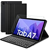 Sross pour Samsung Galaxy Tab A7 Clavier, AZERTY Amovible Bluetooth...