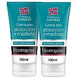 Neutrogena Fórmula Noruega Crema Pies Absorción Inmediata, Pack X 100ml, Almond, 2 Unidad