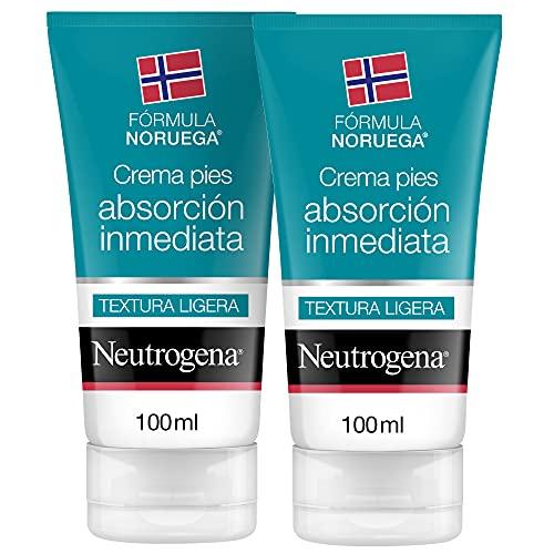 Neutrogena Fórmula Noruega Crema Pies Absorcion Inmediata - 2x100ml - 200 ml