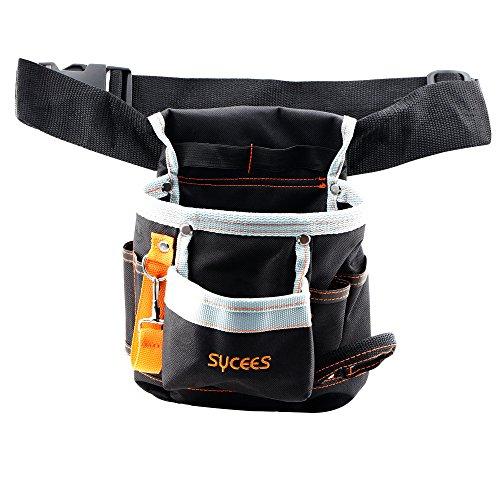 SYCEES-Bolsa herramientas con cinturón ajustable para herra