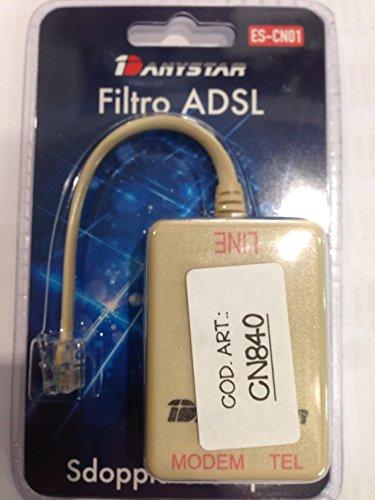 Filtro ADSL plug 6/4
