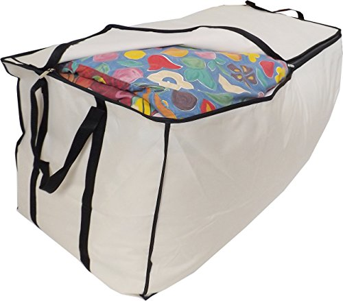 Stupidly Useful Extragroße Betttasche, Jumbo XXL, 215 Liter 98x47x47cm, Beige