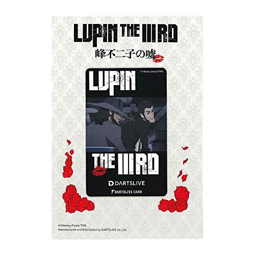 Lupin The IIIRD FUJIKO Mine's Lie DARTSLIVE Card Lupin and Jigen