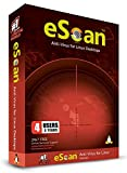 eScan Antivirus for Linux Desktop Automatic Scanner Security Software Maximum Antivirus protection | 4 Devices 3 Years | Linux software 2019