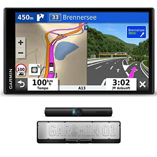 Garmin Camper 780 MT-D EU Navi mit drahtloser Rückfahrkamera BC 40 – Rahmenloses Display, 3D-Navigationskarten