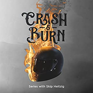 Crash & Burn audiobook cover art