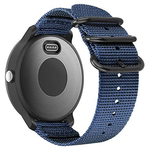 Fintie Band Compatible with Garmin Vivoactive 3/Garmin Venu Sq, 20mm Soft Nylon Replacement Strap Band Compatible with Garmin Vivoactive 3 Music/Forerunner 245 Music/Forerunner 265 Music Smartwatch