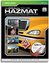 Hazmat 49 CFR 100-185 Book October 2018 Edition