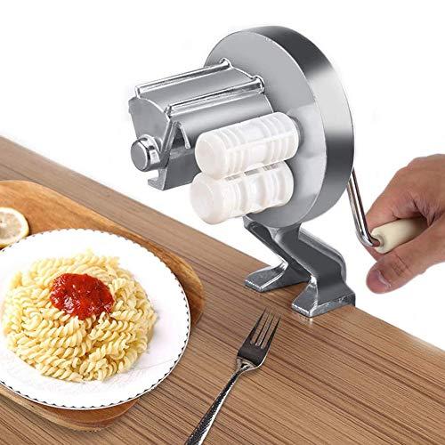ZJZ Nudelmaschine Edelstahl Manuelle Nudelmaschine Professionelle Frischnudelmaschine Ravioli Maker Küchenwerkzeug