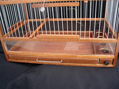 MetS Wooden Hand Crafted Bird Cage