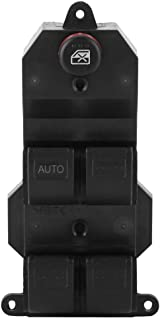 Cuque Power Master Window Switch, 35750-SAE-P02 Driver Side Auto Power Electric Window Control Switch Button for Honda Fit Jazz Civic 2001 2002 2003 2004 2005 2006 2007 2008 2009