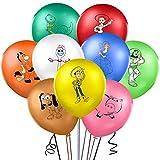 Toy Story Party Supplies - YUESEN Toy Story Globo de látex Party Decoración, Fiesta de cumpleaños Suministros Globo Decoración para decoración de fiesta de cumpleaños para niños 18pcs