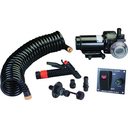 Johnson Pumps 64534-24 Aqua Jet 5.2 GPM Wash Down Pump Kit, 24V