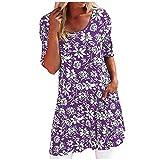 Sommerkleider Damen Knielang Kleiderstange Weiß Kleiderhaken Vintage Lange Damenkleider Kleider Schwarz Kleiderschrank Kleidertaschen Festliche MäDchenkleider Kleiderleiter Leinenkleider(Lila,4XL)