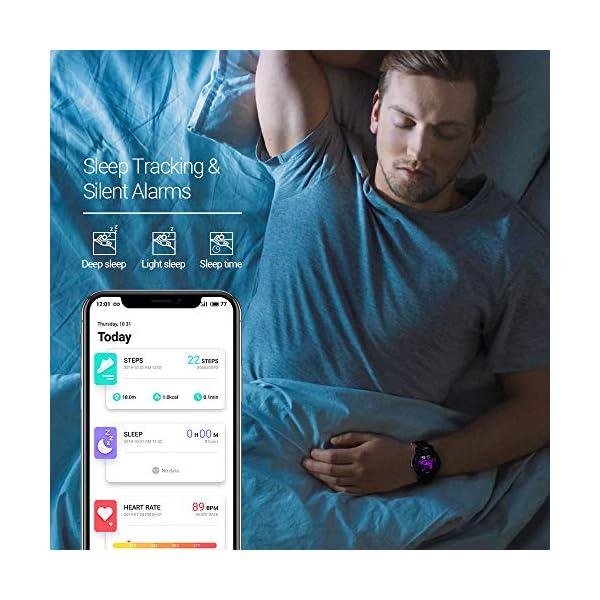 SmartWatch,Reloj Inteligente Impermeable IP68,Bluetooth Relojes Deportivos Pantalla t¨¢ctil completa para monitor… 9