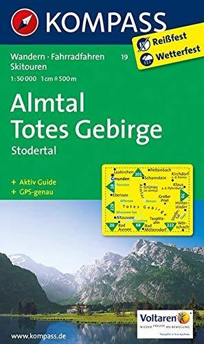 Almtal, Steyrtal, Totes Gebirge: Wander-, Bike- und Skitourenkarte. GPS-genau. 1:50.000