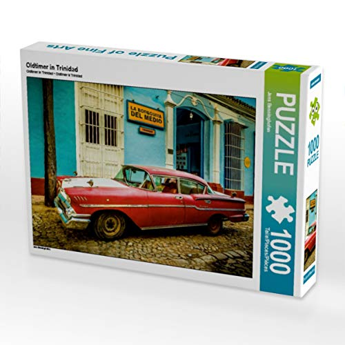 test Trinidads CALVENDO Oldtimer-Puzzle 1000 Stück Legendengröße 64x48cm.  Fotopuzzle Jens… Deutschland