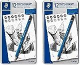 premium quality drawing pencil, Mars Lumograph, graphite pencil set metal