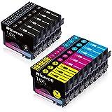 Hicorch 16XL multipack Druckerpatronen Ersatz für Epson 16 XL Kompatible mit Epson Workforce WF-2630WF WF-2010 WF-2510 WF-2520 WF-2530 WF-2540 WF-2630 WF-2650 WF-2660 WF-2750 WF-2760,15-Pack