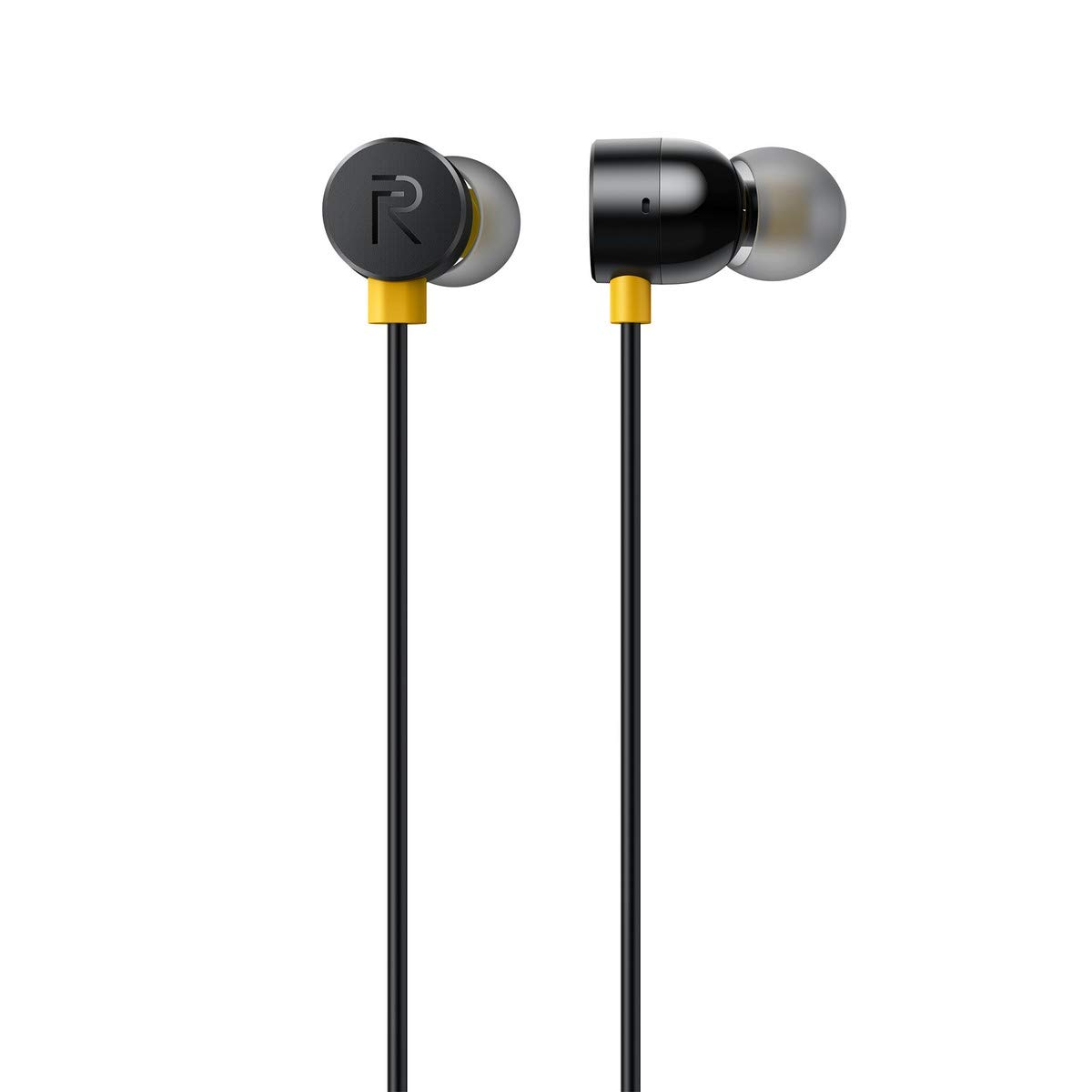Realme Earbuds with Mic for Android Smartphones (Black)