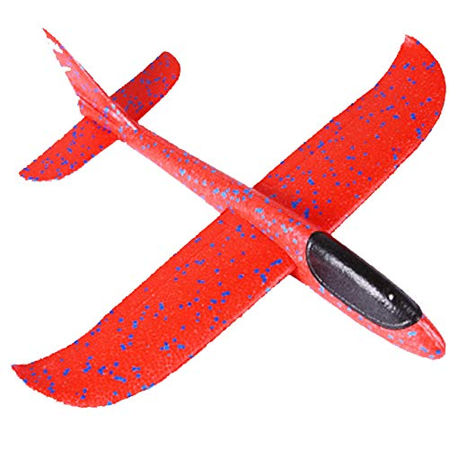 Janly Clearance Sale Education Toys, Foam Throwing Glider Airplane Aircraft Toy Hand Airplane Model, Toys and Hobbies for Kid's Gifts (A)