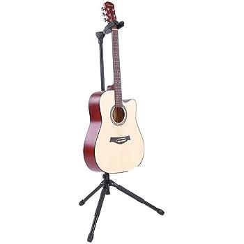 Trípode Soporte Titular para Guitarra, Plegable Soporte de ...