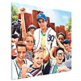 Luremol The Sandlot (1993) Russian DVD Movie Cover Canvas Print Wall Art Pictures Painting for Living Room Bedroom Modern Home Decor Framed Artwork