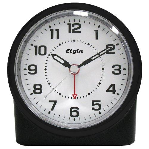 MEKBOK Quartz Analog Clock with Auto Sensor Backlight
