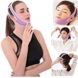 MUYDZ Anti Snore Chin Strap to Help Good Sleep Stop Snoring Sleep Aids Solution for Men Women Kids (Purple)
