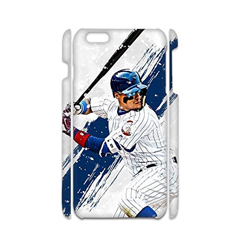 Desconocido Print with Baseball 8 Drop Resistance Rigid Plastic Phone Shell Compatible For iPhone 7 8 4.7 Inch Womon