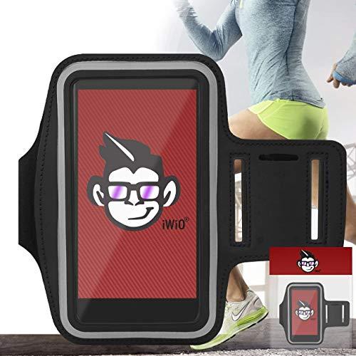 IWIO Premium Adjustable Strap Armband Phone Case Holder for...