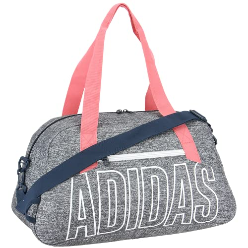 adidas Graphic Duffel Bag, Jersey Onix/Hazy Rose/Crew Navy, One Size