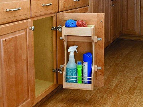Rev-A-Shelf 4SBSU-21 Sink Base Door Mount Storage Organizer