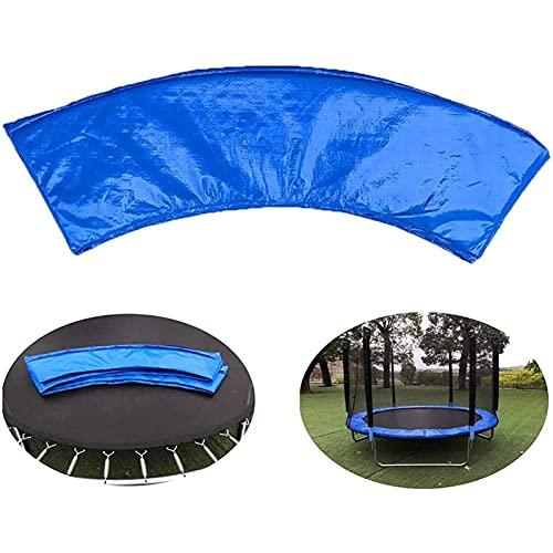 TXDTX-Raincoat Almohadilla de repuesto para trampolín, protector de seguridad con relleno de resorte, impermeable, cubierta de espuma de resorte envolvente, segura, duradera y gruesa, 4 m