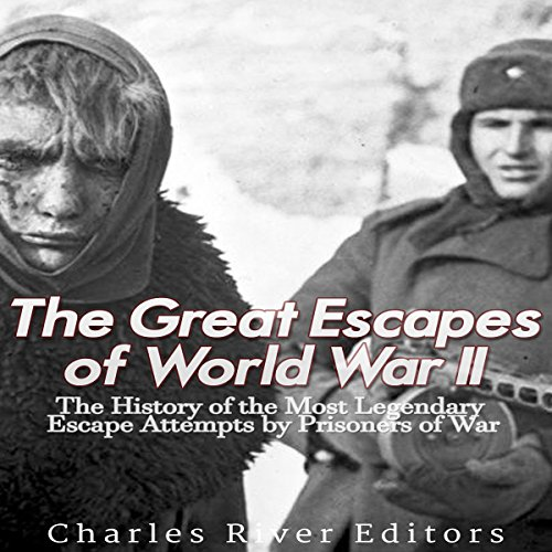The Great Escapes of World War II     The History of the Most Legendary Escape Attempts by Prisoners of War              By:                                                                                                                                 Charles River Editors                               Narrated by:                                                                                                                                 Jim D. Johnston                      Length: 1 hr and 18 mins     1 rating     Overall 5.0