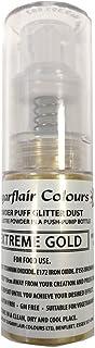 Sugarflair Comestible Polvo Soplo No-Aerosol Spray de Brillo - ORO EXTREMO