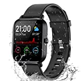 Smart Watch, 1.4' TFT LCD Screen Smartwatch with Heart Rate and Sleep Monitor, IP67 Waterproof...
