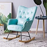 LJQLXJ divano Single Sofa Reclining Chair Rocking Chair Carefree Chair Living Room Balcony Leisure Chair Napping Chair,Same as picture8