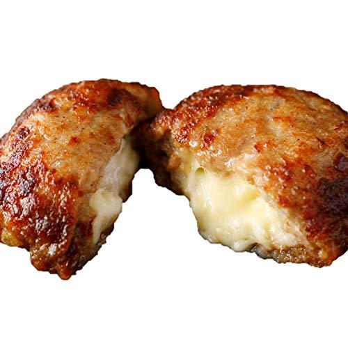 [スターゼン] 訳あり 5種のチーズインハンバーグ 大容量 冷凍 冷凍食品 電子レンジ 温めるだけ 業務用 ハンバーグ チーズインハンバーグ 5種 (20個入 1.8kg (10個×2袋))
