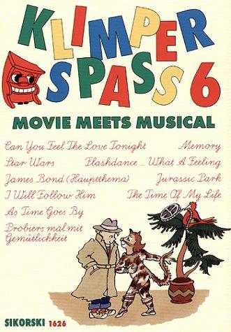 Klimper Spass 6 - Movie Meets Musical. Klavier, Keyboard