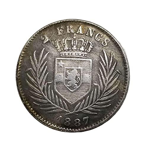 Congo 1887 Colección de monedas...