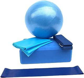 Prom-near Set de Yoga de 5 Piezas Pilates Ball para Yoga