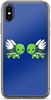 Compatible for iPhone X/XS Turtle Doves Funny Cute Animal Cartoon