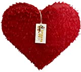 Red Heart Pinata Wedding Party Supplies Bridal Shower Pinata Bride to Be Decorations Photo Prop