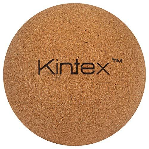 Kintex Bola de corcho de 5 cm, incluye bolsa de almacenamiento, bola de masaje de corcho, rodillo de masaje, automasaje, entrenamiento de fascia (5 cm)