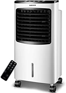Bärbar vit luftkonditionering med fjärrkontroll, mobil luftavdunstningskylare 3 hastigheter och lägen, luftfuktare, luftre...