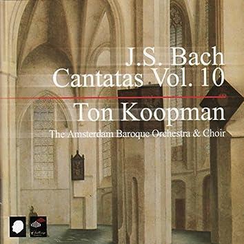 J.S. Bach: Cantatas Vol. 10