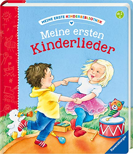 Meine ersten Kinderlieder (Meine erste Kinderbibliothek)