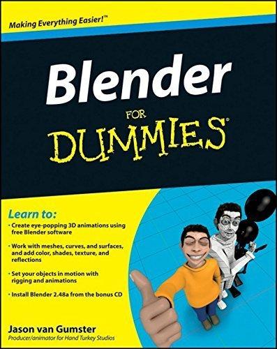 Blender For Dummies 1st edition by van Gumster, Jason (2009) Paperback